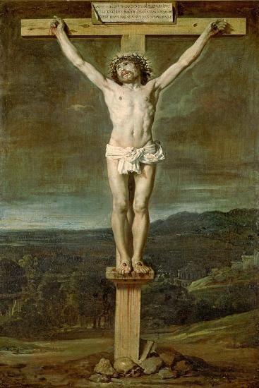 Christ Alive on the Cross at Calvary, 1631-Diego Velazquez-Giclee Print