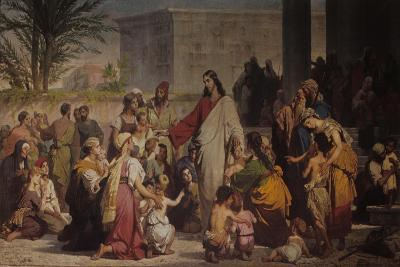 Christ Among the Children-Tommaso da Rim-Giclee Print