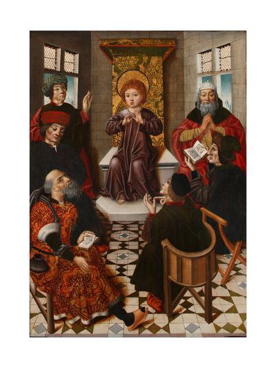 Christ Among the Doctors-Diego De La Cruz-Giclee Print
