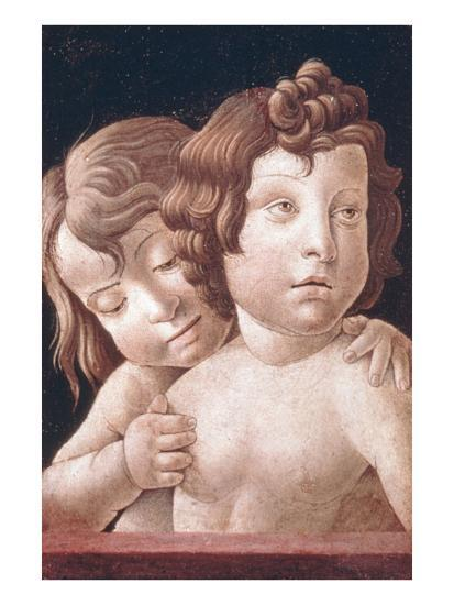Christ and St John by Bellini-Giovanni Bellini-Art Print