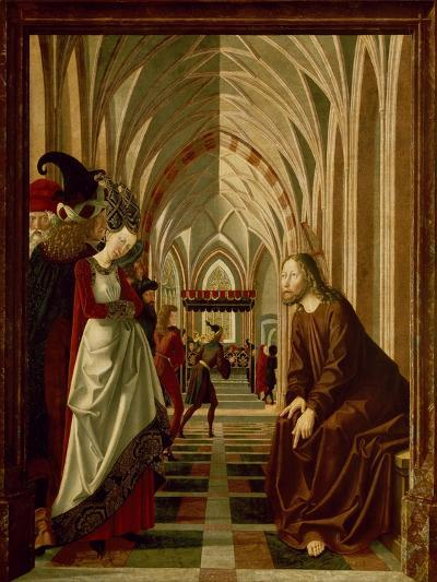 Christ and the Adulteress--Giclee Print