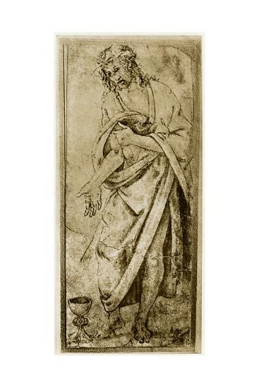 Christ and the Chalice, 1913-Antonio Del Pollaiuolo-Giclee Print