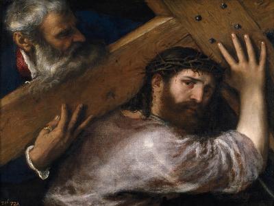 Christ And the Cyrenian, Ca. 1565, Italian School--Giclee Print