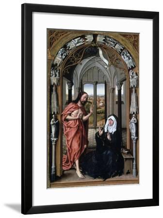 Christ Appearing to His Mother, C1440-Rogier van der Weyden-Framed Giclee Print