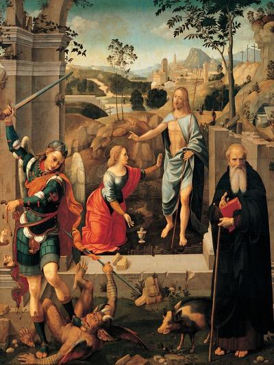 Christ Appearing To Mary Magdalene-Viti Timoteo-Giclee Print