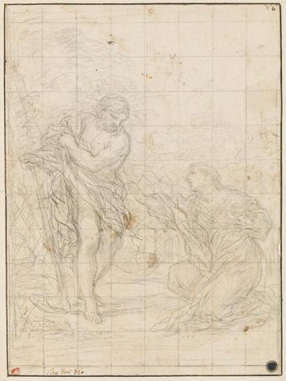 Christ Appearing to Mary Magdalene-Ciro Ferri-Giclee Print