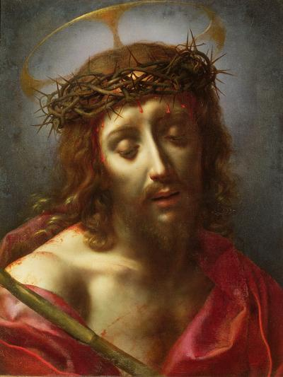 Christ as the Man of Sorrows-Carlo Dolci-Giclee Print