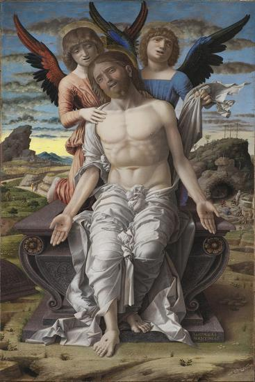 Christ as the Suffering Redeemer, 1495-1500-Andrea Mantegna-Giclee Print