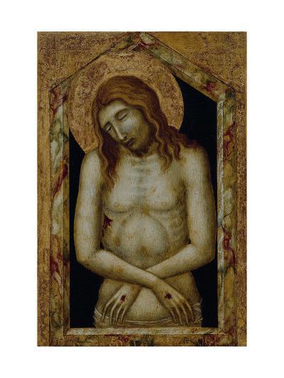 Christ as the Suffering Redeemer-Pietro Lorenzetti-Giclee Print
