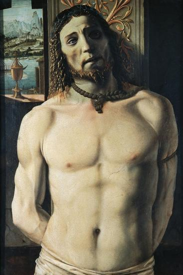 Christ at Column, Attributed to Donato Bramante--Giclee Print