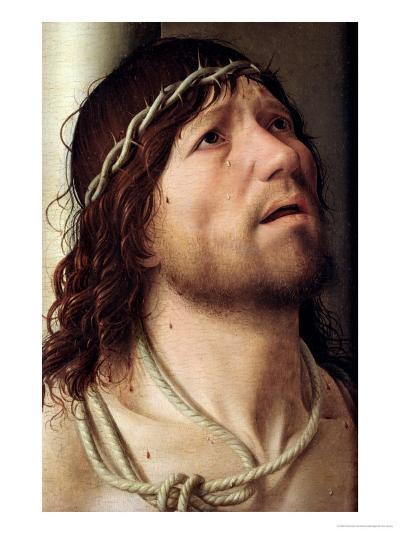 Christ at the Column, circa 1475-Antonello da Messina-Giclee Print