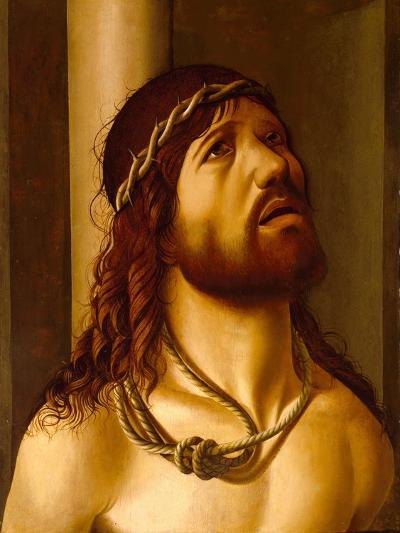 Christ at the Column- Antonio de Saliba-Giclee Print