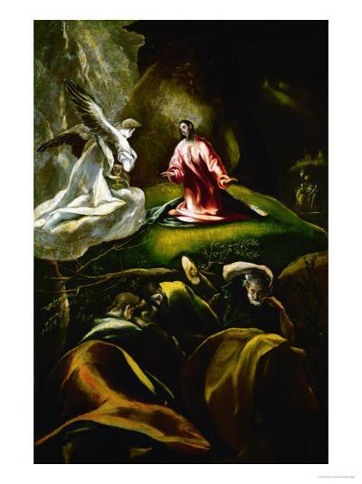Christ at the Mount of Olives-El Greco-Giclee Print