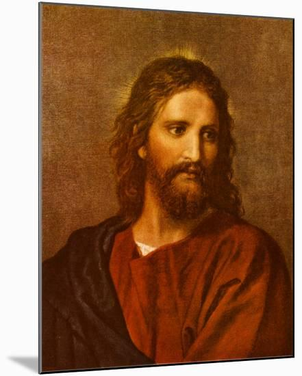 Christ at Thirty-Three-Heinrich Hofmann-Mounted Print