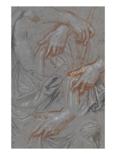 Christ au roseau-Pierre Mignard-Giclee Print