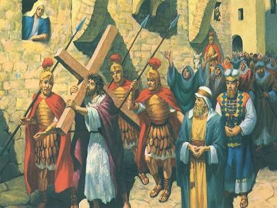 Christ Bearing the Cross, 1965--Giclee Print