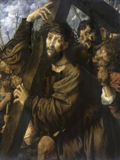 Christ Bearing the Cross-Jan Sanders van Hemessen-Giclee Print