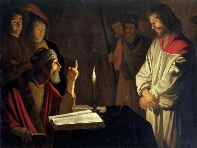 Christ Before Caiaphas-Gerrit van Honthorst-Giclee Print