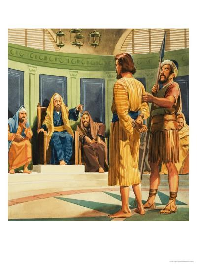 Christ Before Caiaphas--Giclee Print