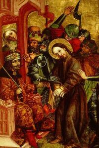 Christ before Pilate (Vlad III as Pontius Pilat), Ca 1463-1464