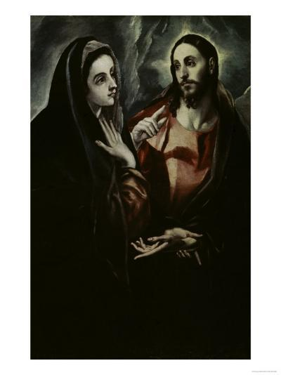 Christ Bids Farewell To His Mother-El Greco-Giclee Print