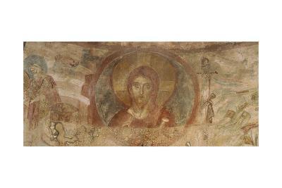 Christ Blessing, Church of Santa Maria Foris Portas, Castelseprio, Italy--Giclee Print