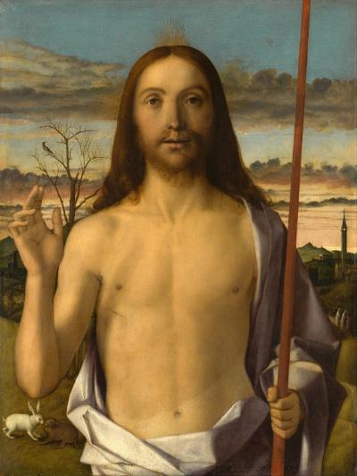 Christ Blessing-Giovanni Bellini-Giclee Print