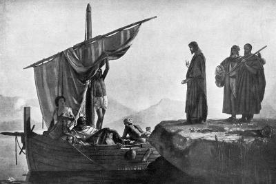 Christ Calling the Apostles James and John, 1926-Edward Armitage-Giclee Print