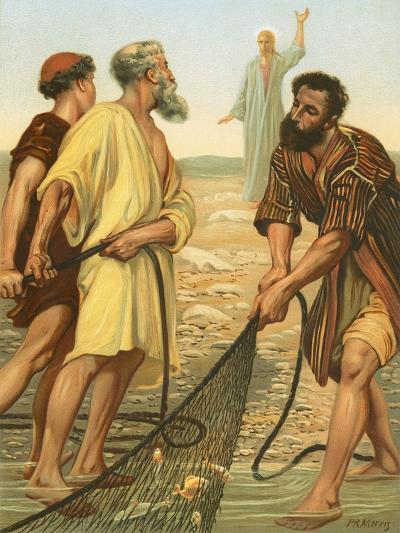 Christ Calling the Disciples-Philip Richard Morris-Giclee Print