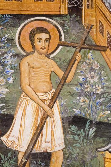 Christ Carrying Cross--Giclee Print