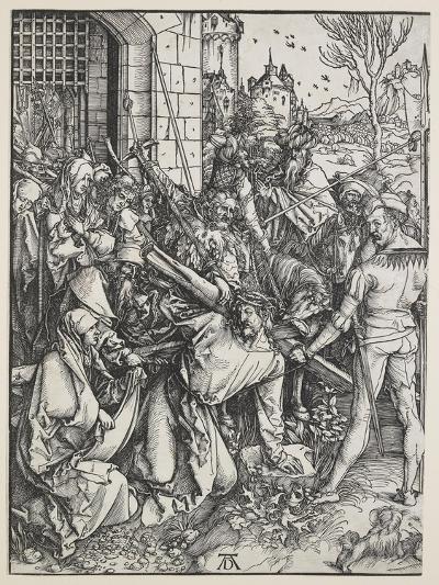 Christ Carrying the Cross, 1498 - 1499-Albrecht D?rer-Giclee Print