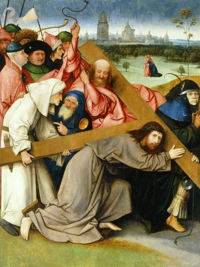 Christ Carrying the Cross, 1505-1507-Hieronymus Bosch-Giclee Print
