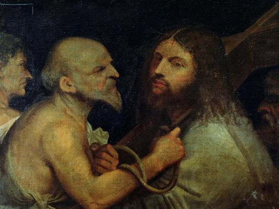 Christ Carrying the Cross-Giorgione-Giclee Print
