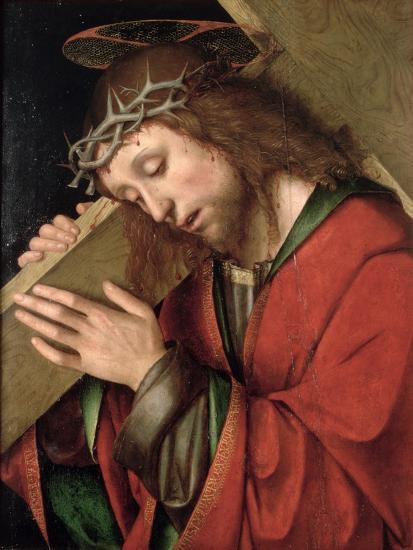 Christ Carrying the Cross-Gian Francesco De' Maineri-Giclee Print