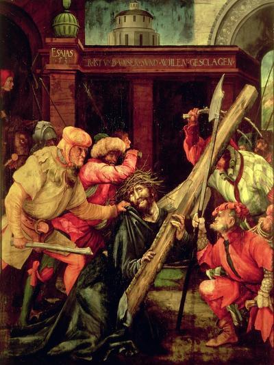 Christ Carrying the Cross-Matthias Gr?newald-Giclee Print