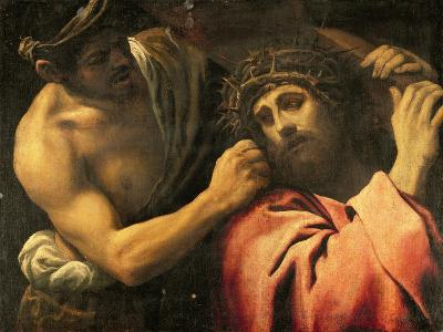 Christ Carrying the Cross-Annibale Carracci-Giclee Print