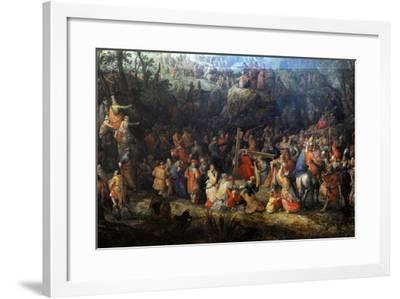 Christ Carrying the Cross-David Vinckboons-Framed Giclee Print