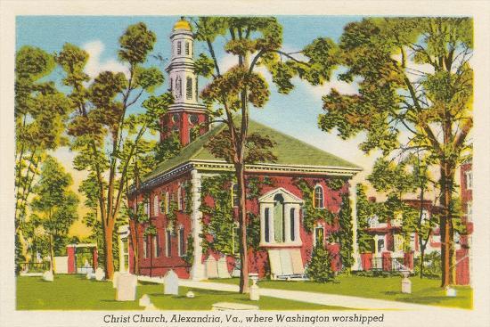 Christ Church, Alexandria, Virginia--Art Print