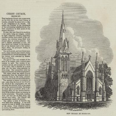 Christ Church at Highbury--Giclee Print