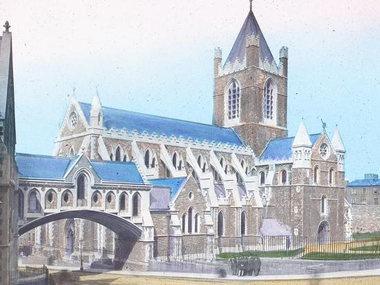 'Christ Church Cathedral', c1910-Unknown-Photographic Print