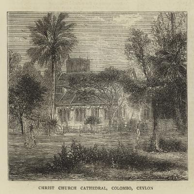 Christ Church Cathedral, Colombo, Ceylon--Giclee Print