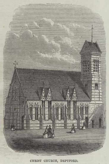 Christ Church, Deptford--Giclee Print