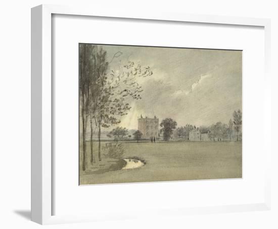 Christ Church Meadows, 6 May 1788-John Baptist Malchair-Framed Giclee Print