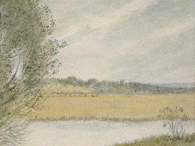 Christ Church Meadows-John Baptist Malchair-Giclee Print