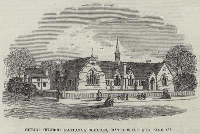 Christ Church National Schools, Battersea--Giclee Print