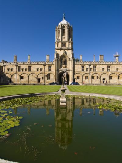 Christ Church, Oxford, Oxfordshire, England, United Kingdom, Europe-Charles Bowman-Photographic Print