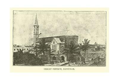 Christ Church, Zanzibar--Giclee Print