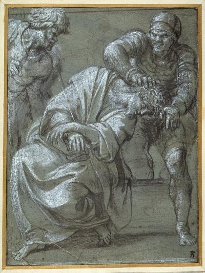 Christ Crowned with Thorns, 1605-06-Annibale Carracci-Giclee Print