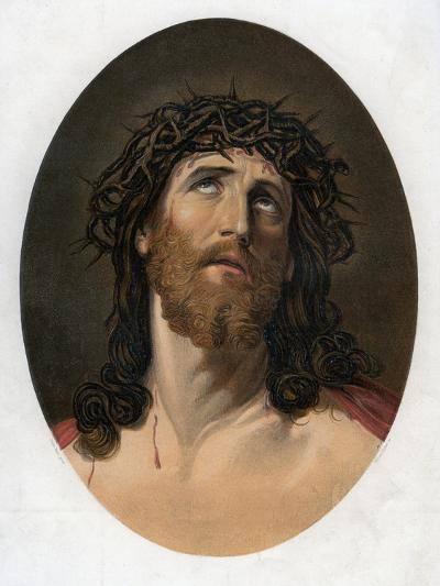 Christ Crowned with Thorns, 19th Century-William Dickes-Giclee Print