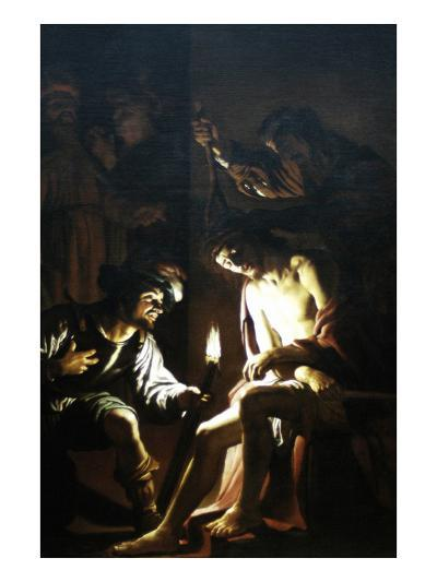 Christ Crowned with Thorns-Gerrit van Honthorst-Art Print